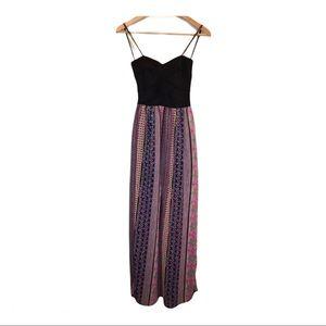 B. Darlin Strapless Maxi Dress Size 3/4